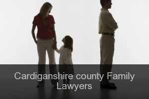 Cardiganshire county Family Lawyers