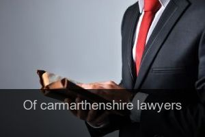 Of carmarthenshire Lawyers