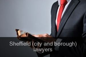 Sheffield (city and borough) Lawyers