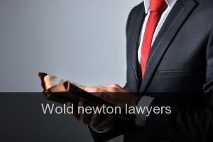 Wold newton Lawyers